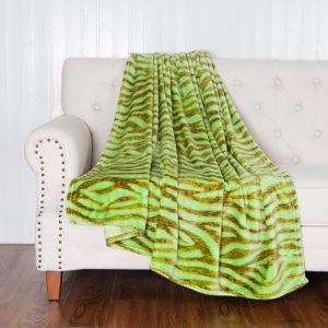 Deka zelená 150x200cm TiaHome