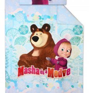 Povlečení Disney Máša a Medvěd 140x200cm + 90×70 cm