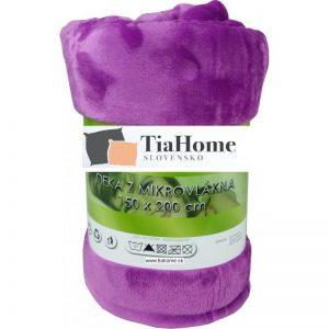 Deka fialová 150x200cm TiaHome