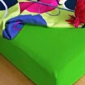 Prostěradlo froté zelená TiaHome