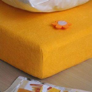 Prostěradlo froté oranžová TiaHome