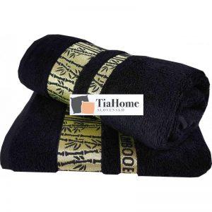 Uterkák Bambo gold černý 50x90cm TiaHome