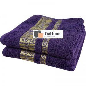 Uterkák Bambo gold tmavě-fialový 50x90cm TiaHome