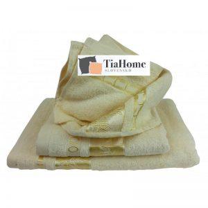 Uterkák Bambo gold máslový 50x90cm TiaHome