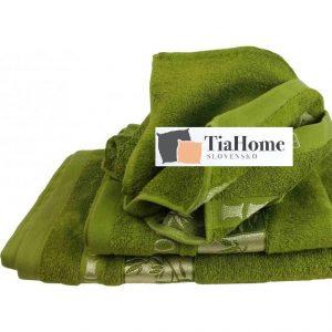 Uterkák Bambo gold zelený 50x90cm TiaHome