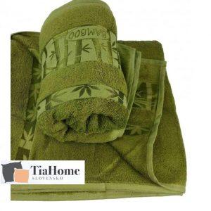 Uterkák Bambo zelený 50x90cm TiaHome