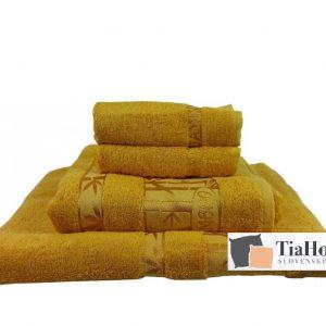 Uterkák Bambo zlato žlutá 50x90cm TiaHome