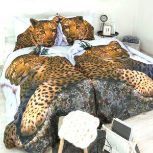 Povlečení bavlněné Deluxe 3D Tiger TiaHome